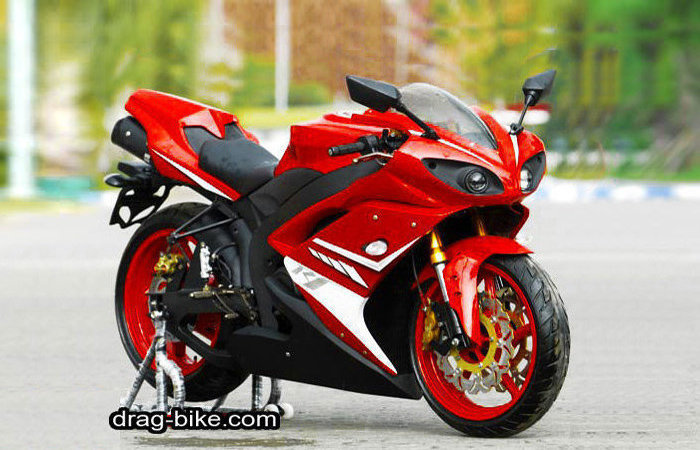 Foto Modifikasi Vixion Full Fairing R1 Yamaha YZF-R1