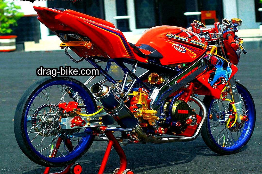 Foto gambar modifikasi motor vixion keren terbaru