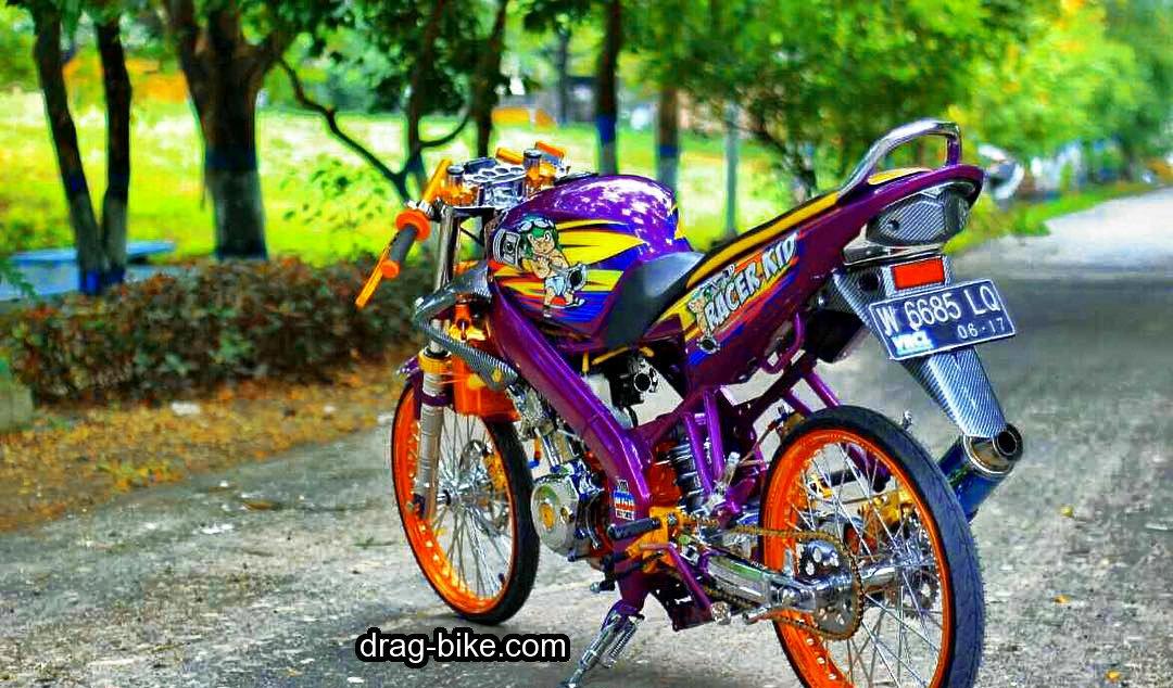 Gambar motor modifikasi terbaru thailand look