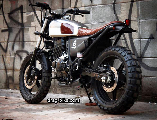 Modifikasi CB Scrambler