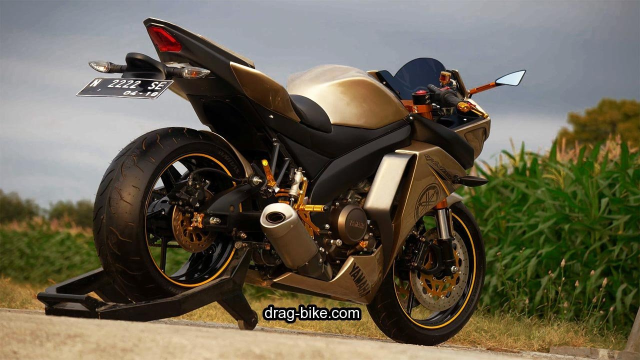 Modifikasi New Vixion Lightning Full Fairing NVL