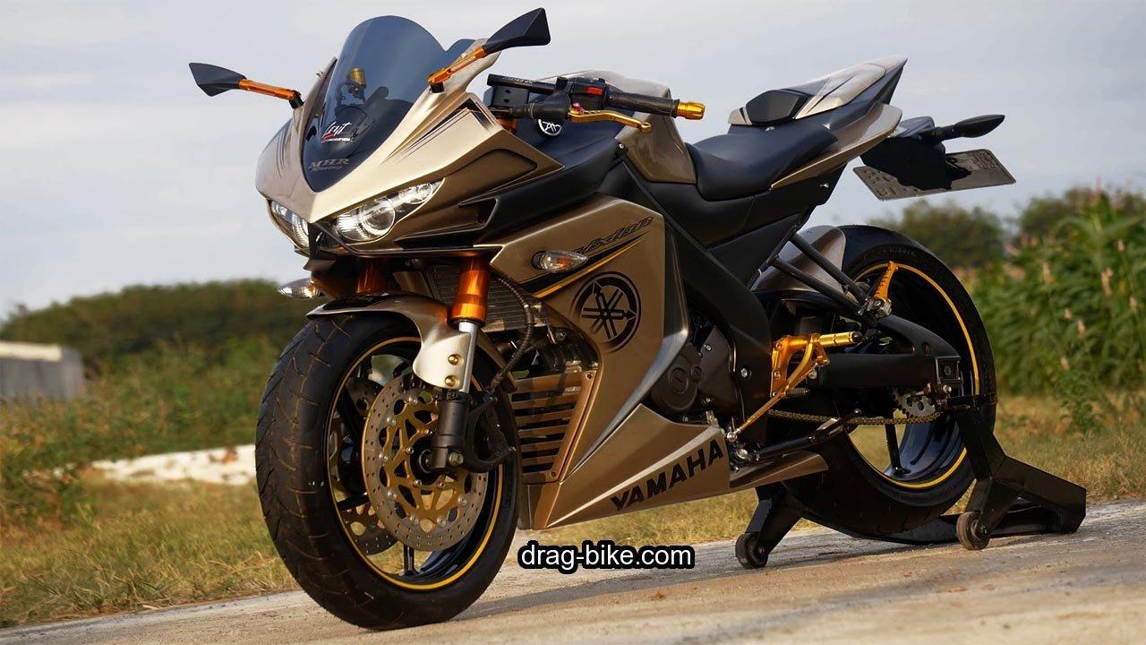 53 Foto Gambar Modifikasi Vixion Full Fairing MotoGP Drag Bikecom