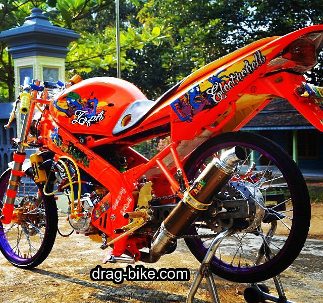 Gambar Modifikasi Motor Motor Modifikasi Full Variasi