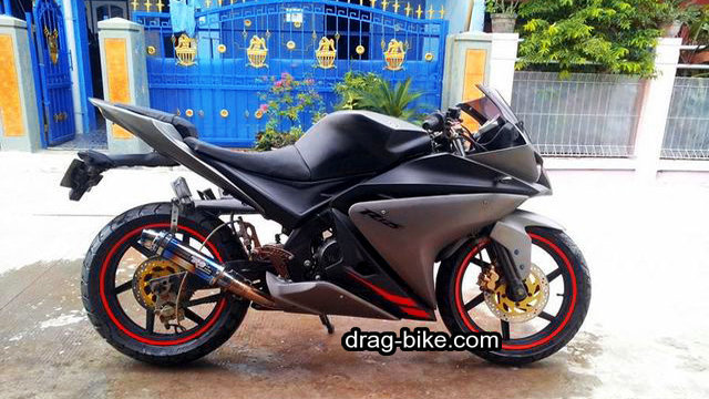 Modifikasi new vixion full fairing sport