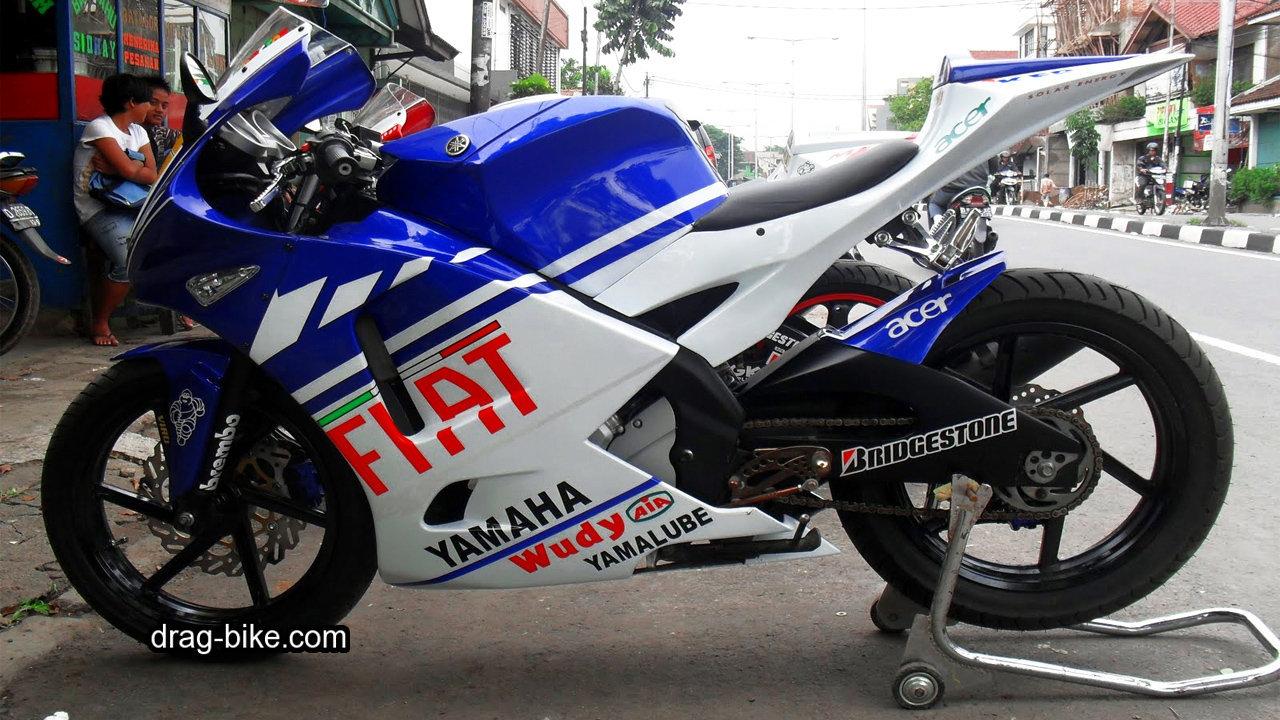 Modifikasi vixion full fairing M1 Yamaha YZR-M1