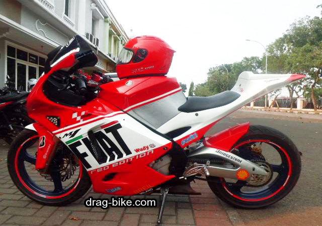 Modifikasi vixion full fairing M1 motogp YZR-M1