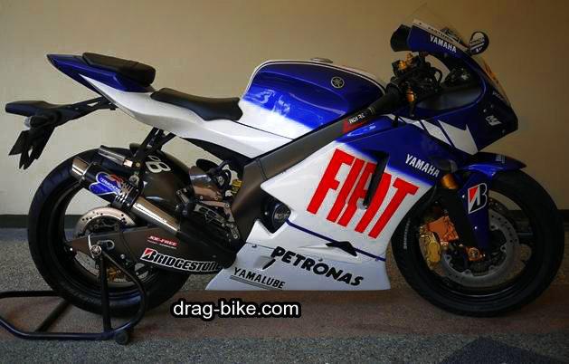 Modifikasi vixion full fairing M1 motogp