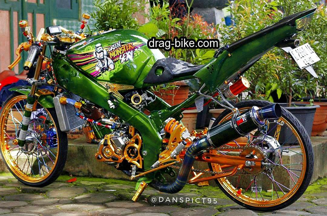 Motor vixion modifikasi street racing thailook style
