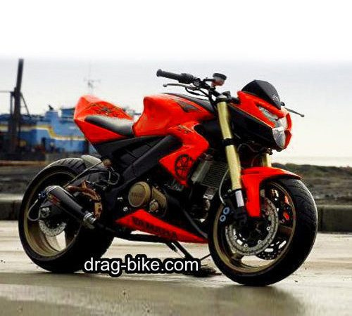New vixion modif street fighter monster