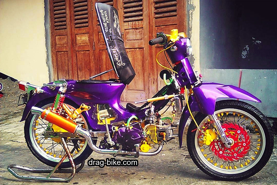 foto motor c70 modifikasi