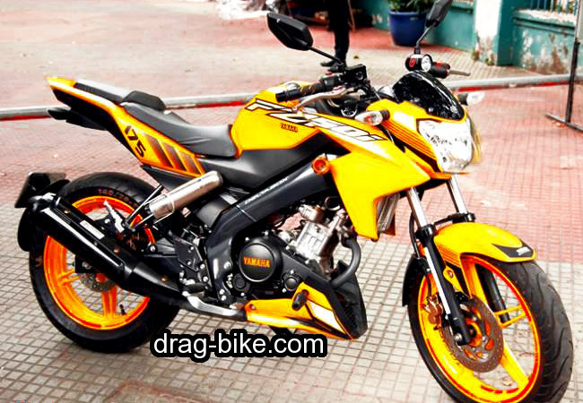 foto motor modifikasi vixion street fighter touring