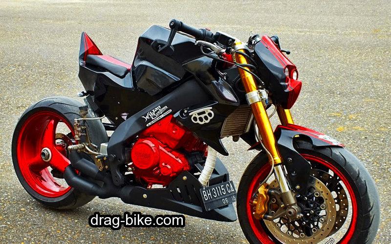 gambar motor modifikasi vixion street fighter monster