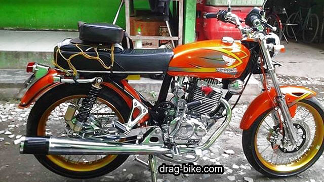 modifi motor cb 100 mesin tiger