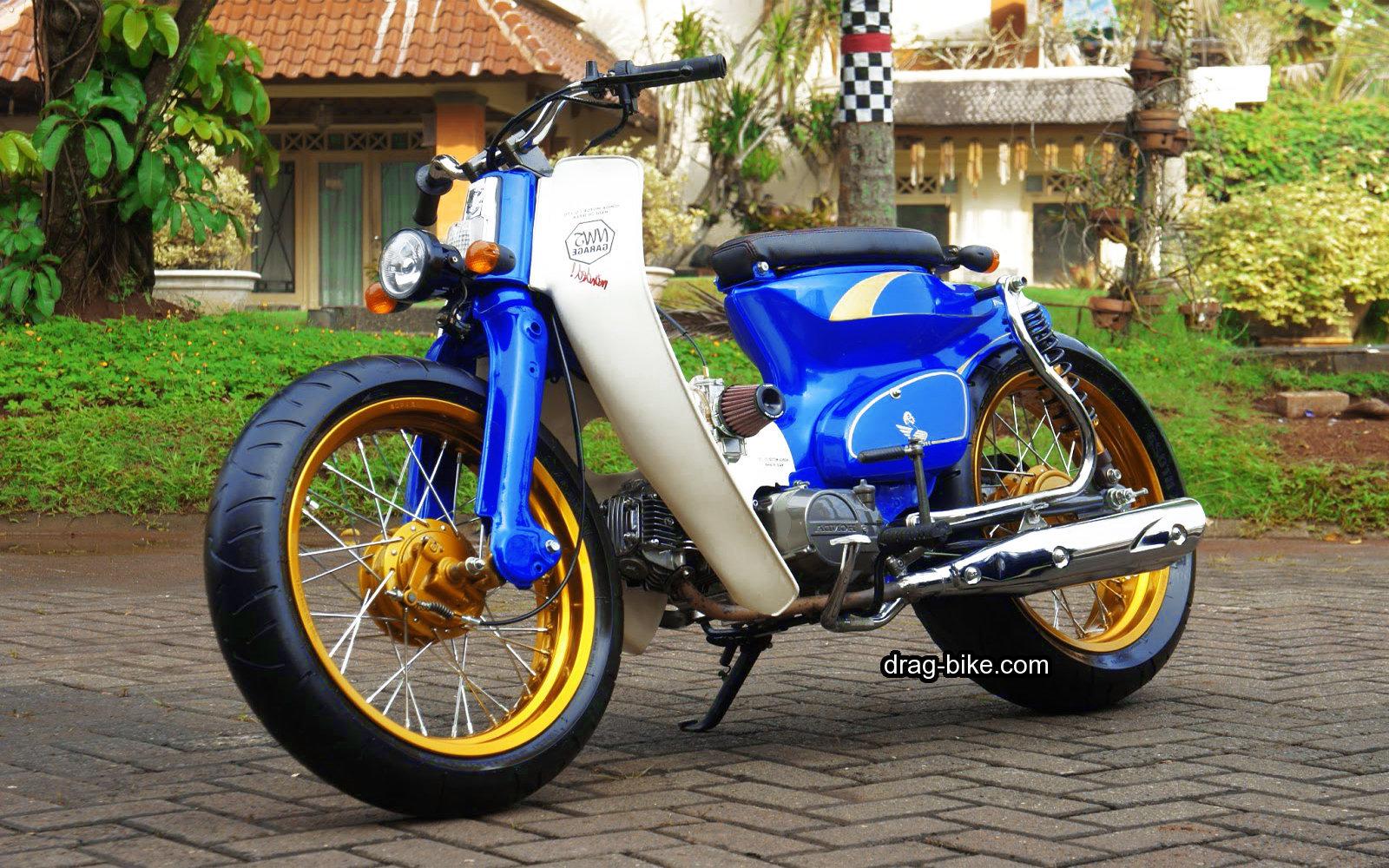 modifikasi c70 jap style