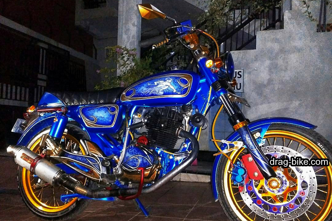 modifikasi cb 100 airbrush
