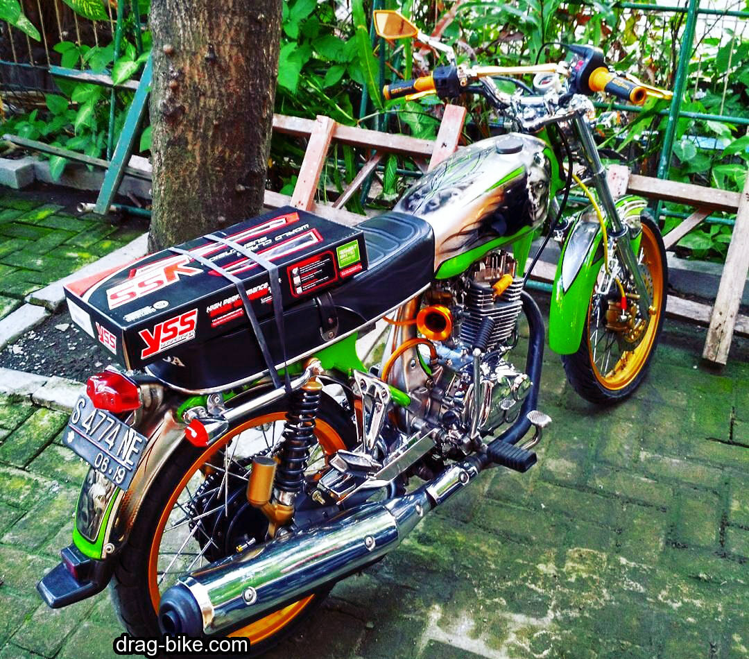 modifikasi cb 100 mesin tiger