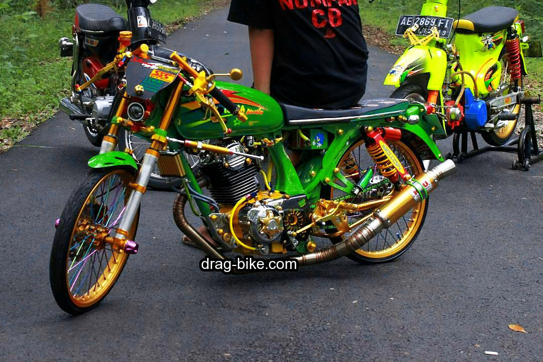 modifikasi cb nganjuk modif racing
