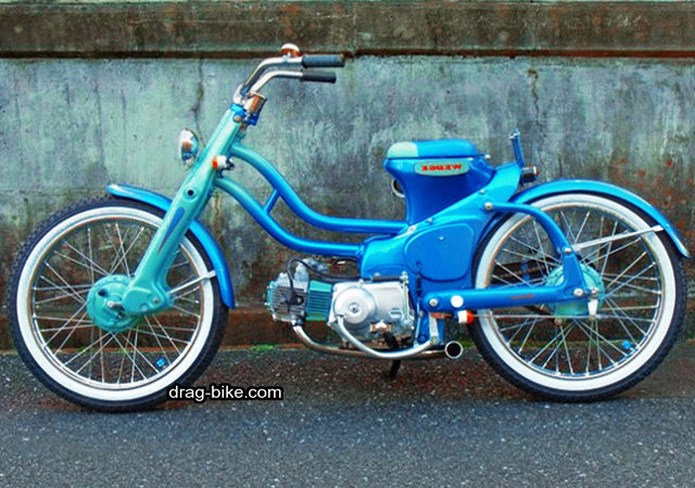 modifikasi honda c70 klasik street racing look