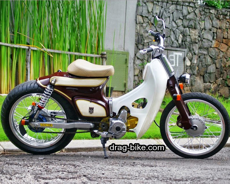 42 Foto Gambar Modifikasi Motor C70 Racing Chopper Jap Style