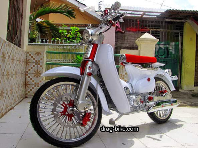 modifikasi motor c70 klasik