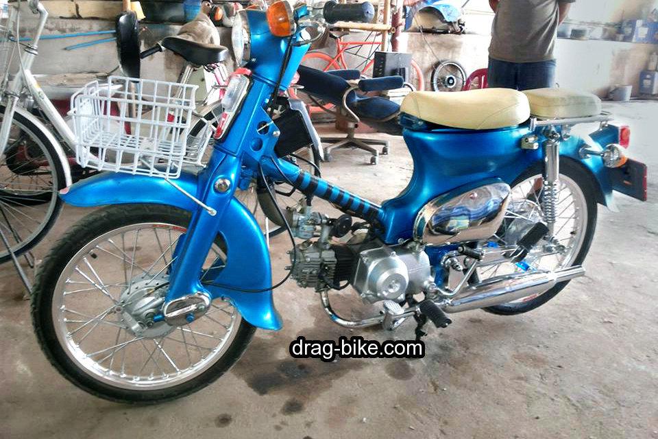 modifikasi motor c70 orisinil