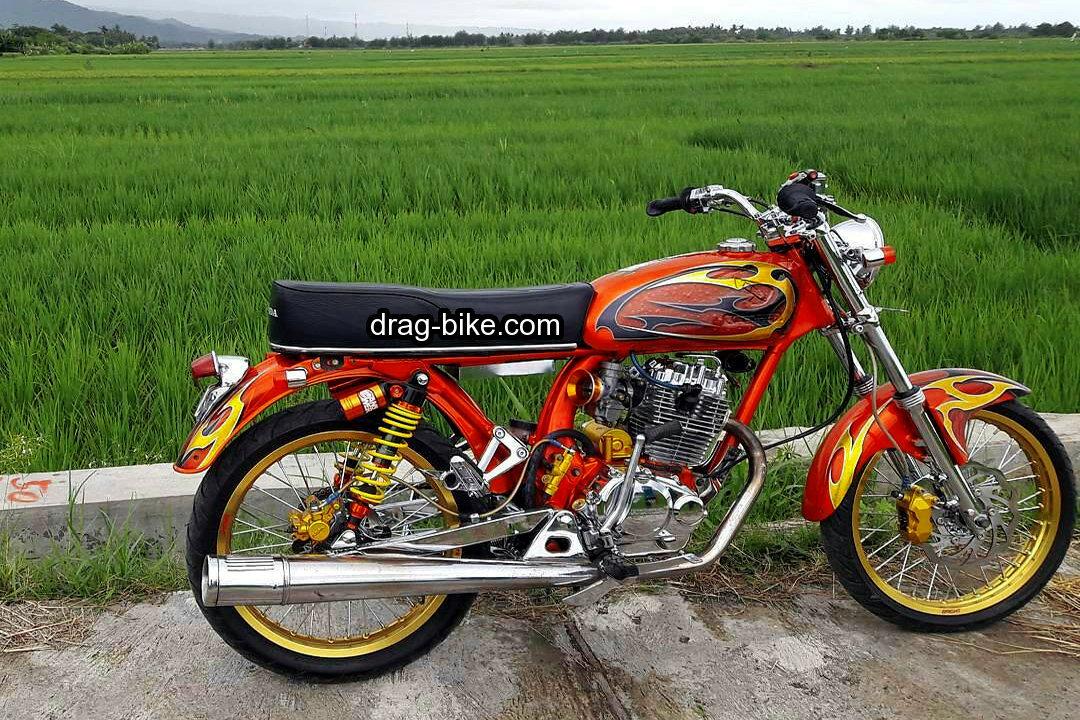 modifikasi motor cb 100 mesin GL pro
