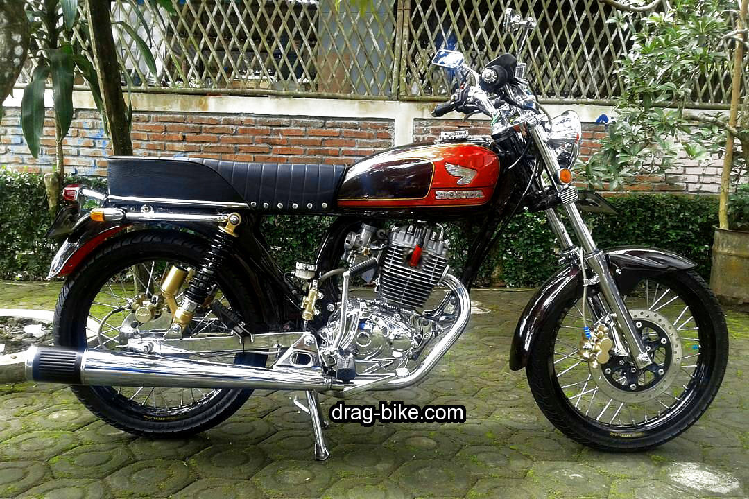 modifikasi motor cb 100 mesin chrome