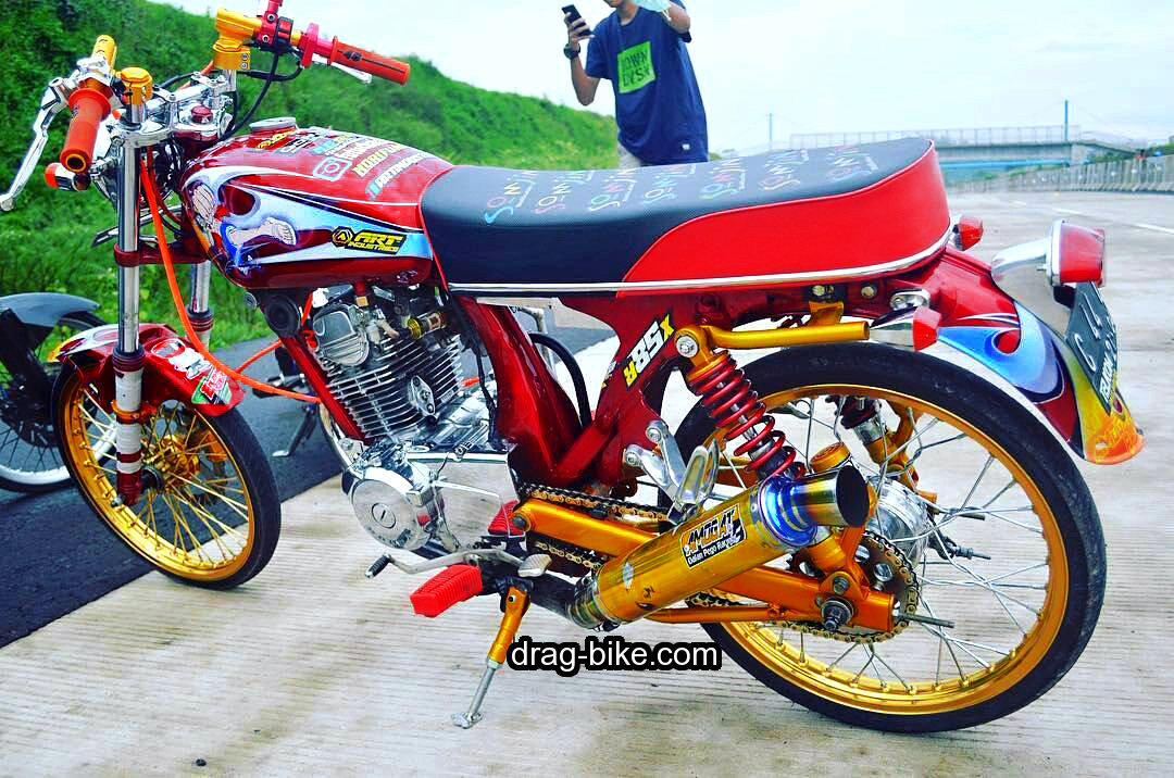 modifikasi motor cb antik street racing thailook style