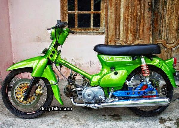 modifikasi motor honda bebek 70