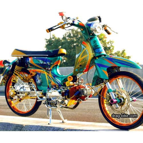 44 Foto Gambar Modifikasi Honda Sonic Drag Bike Thailand Thailook Style Drag Bike Com