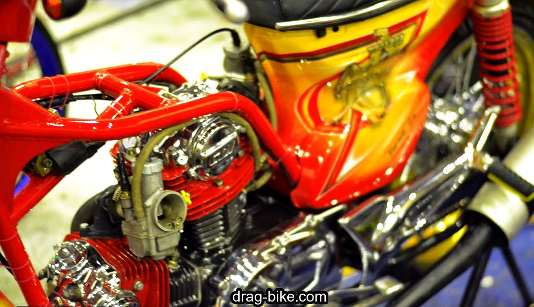 modifikasi motor honda c70 mesin tiger