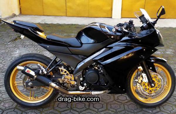 modifikasi motor vixion 2014 warna hitam