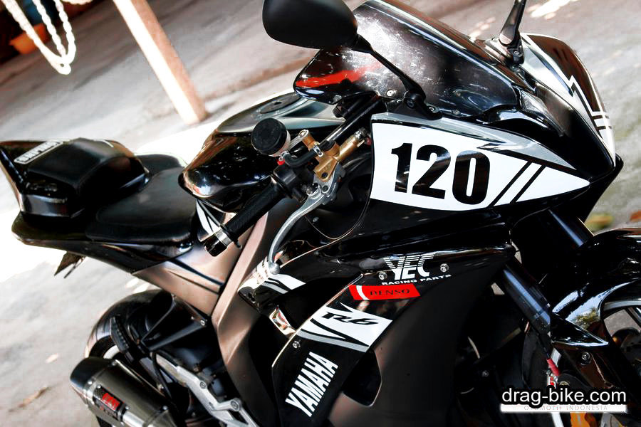 modifikasi new vixion full fairing black