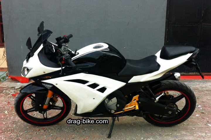 modifikasi new vixion full fairing ninja 250 fi