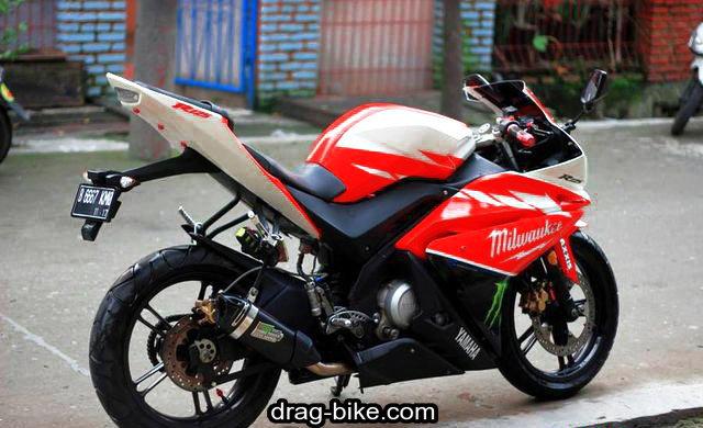 modifikasi vixion fairing ninja rr new thailook style
