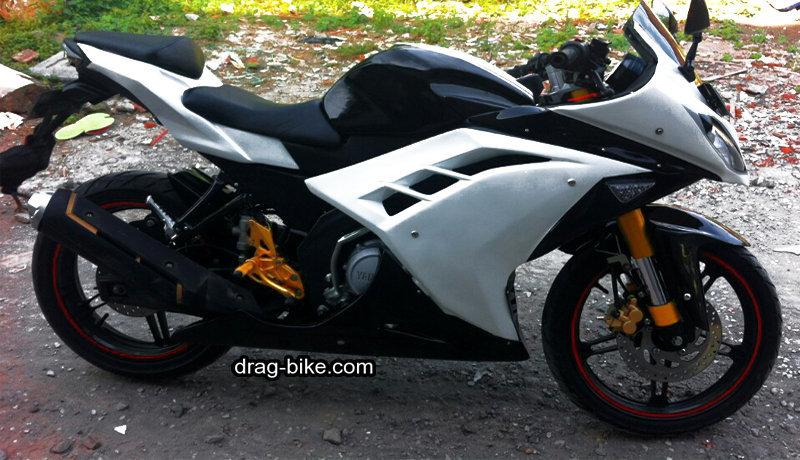 modifikasi vixion full fairing ninja 250 cc