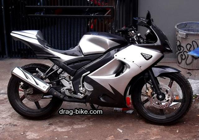 modifikasi vixion full fairing ninja RR 150cc mono