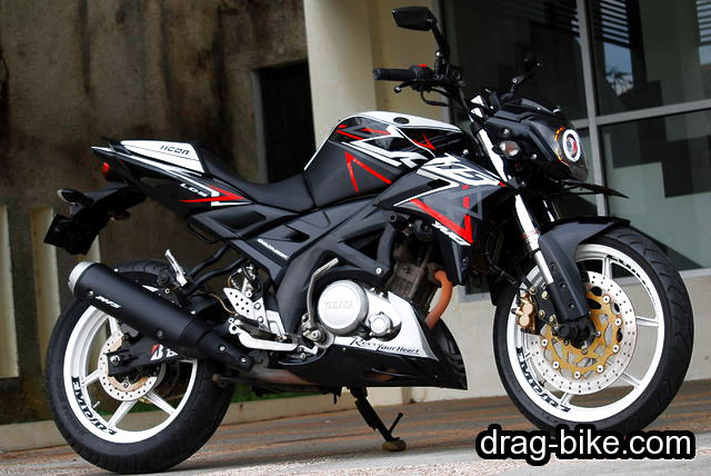 modifikasi vixion street fighter minimalis simple