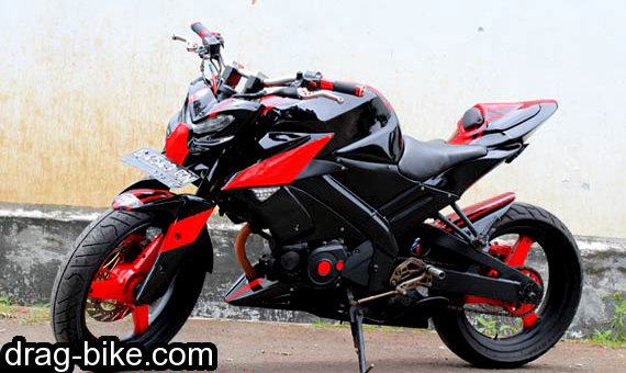 modifikasi vixion street fighter monster touring