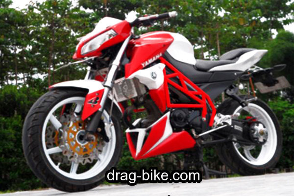 modifikasi vixion street fighter touring minimalis