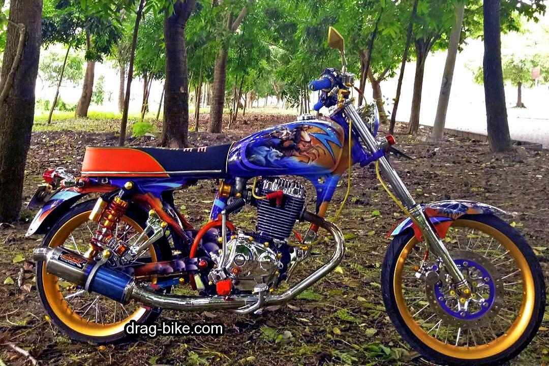 motor cbmodifikasi harley