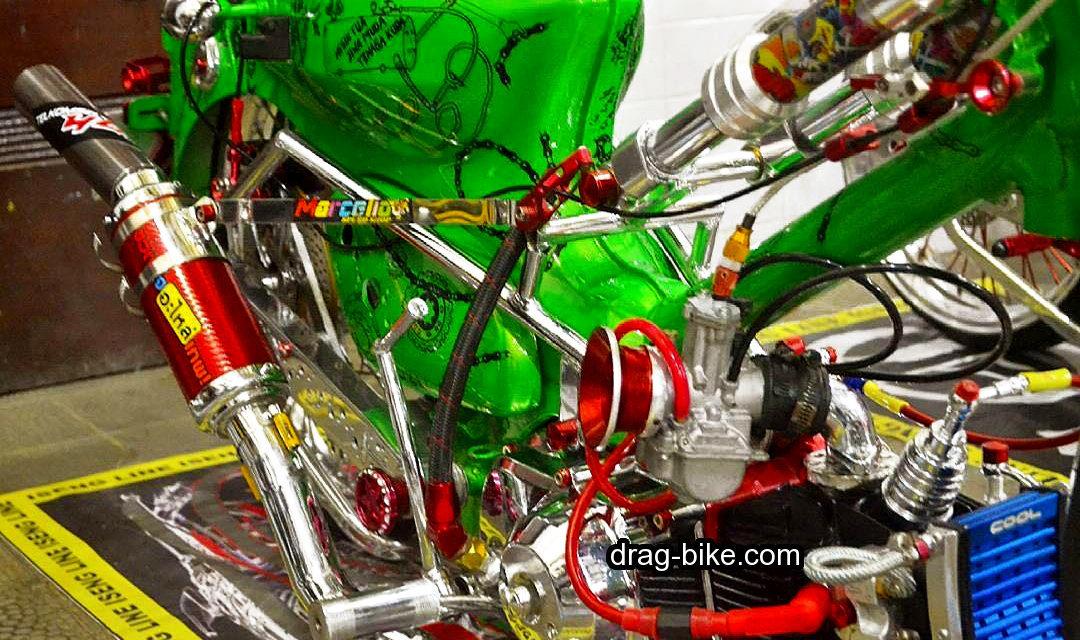 motor honda c70 modif extreme