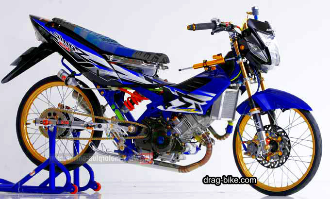 Honda nova sonic drag bike