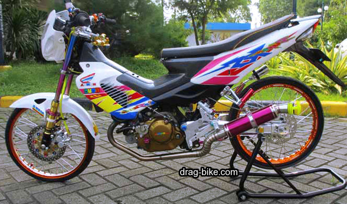 Modif honda sonic 125 rs super