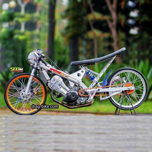 Modifikasi Honda SONIC Drag Bike Thailand Thailook Style