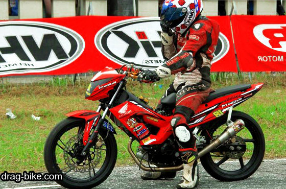 Modifikasi honda sonic 150 road race