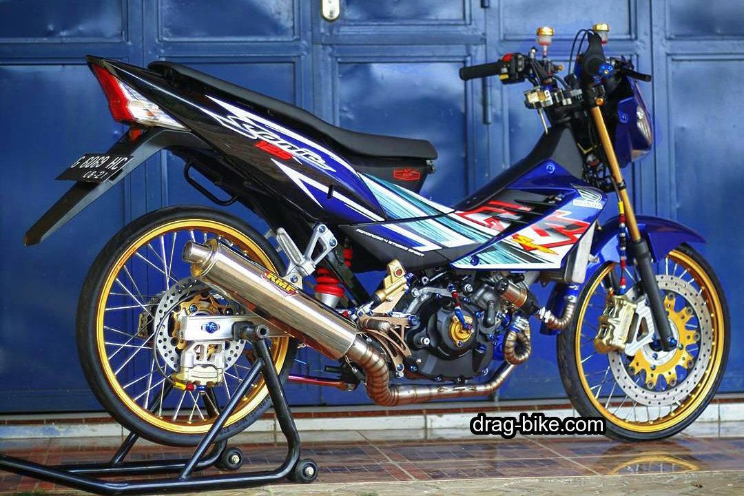 Motor honda sonic 150r modif jari jari