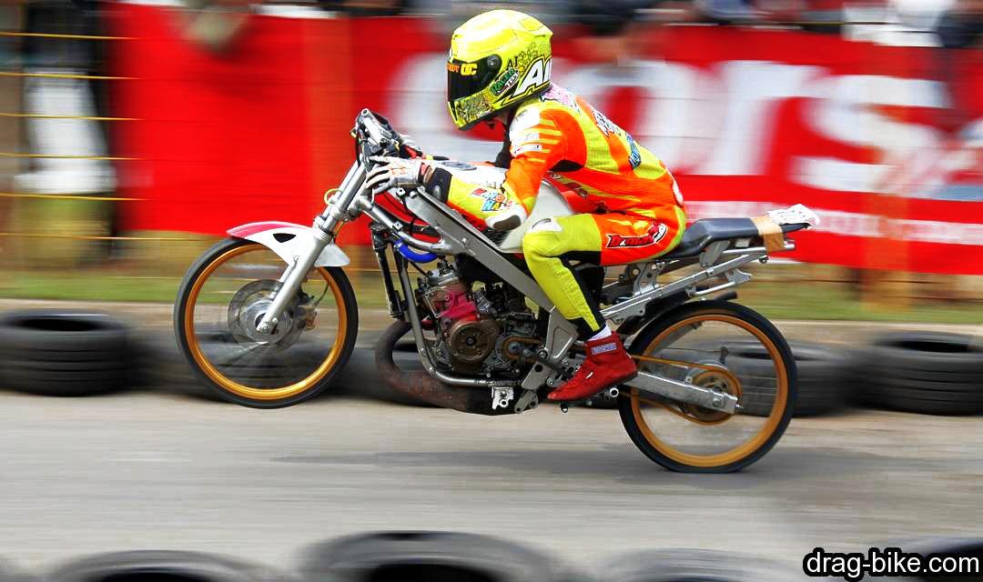 balapan motor ninja drag modif mothai thailook style