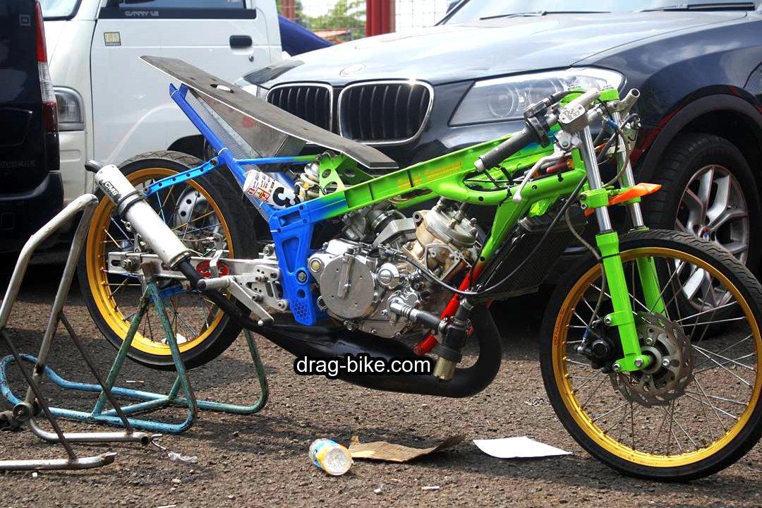 50 foto gambar modifikasi ninja r drag bike racing drag