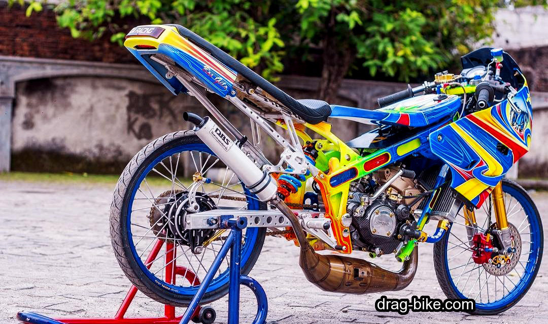40 foto gambar modifikasi motor ninja r street racing